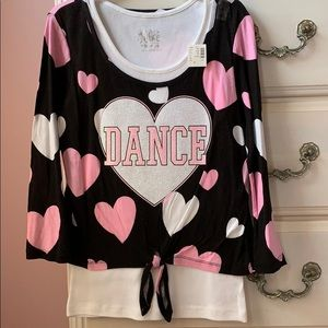 NWT Justice Dance Shirt